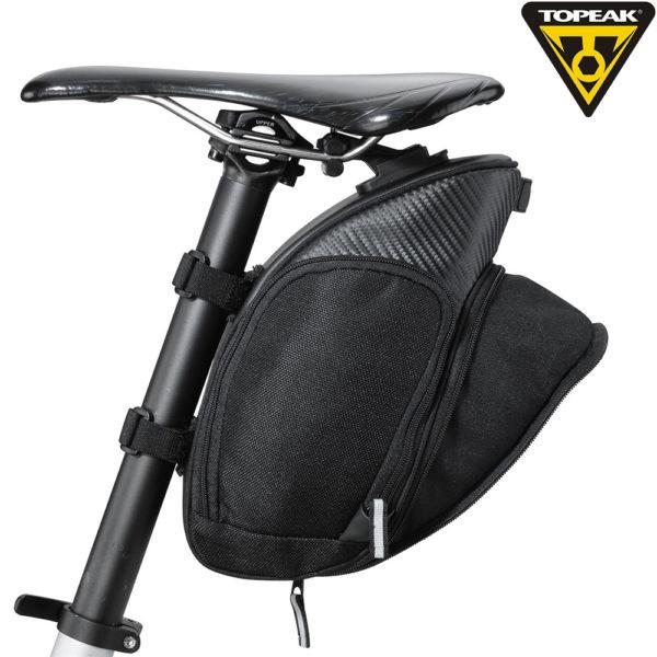 TOPEAK MondoPack XL w/FixerF25 подседельная сумка с креплением с раскрывающимся задним карманом