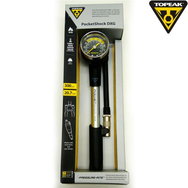 TOPEAK Pocket Shock DXG Насос высокого давления 300 PSI/20.7BAR