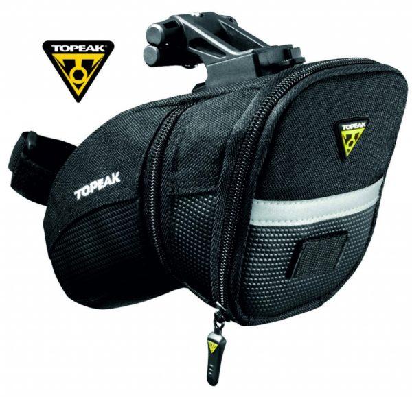 TOPEAK Aero Wedge Pack w/quick click подседельная сумка с креплением F25
