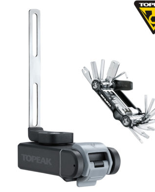 TOPEAK Ninja T Mountain Ninja Cage Mount w/ tool box & Mini 20 Pro tool адаптер под флягодержатель д/крепления бокса с мультиинструментом MTB