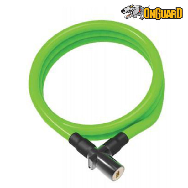 Замок трос OnGuard Lightweight Key Coil Cable Lock.150см х 8мм