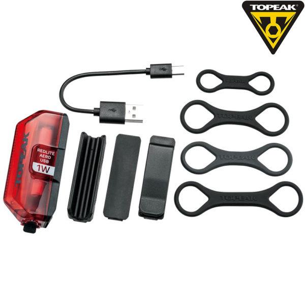 TOPEAK RedLite Aero USB 1W