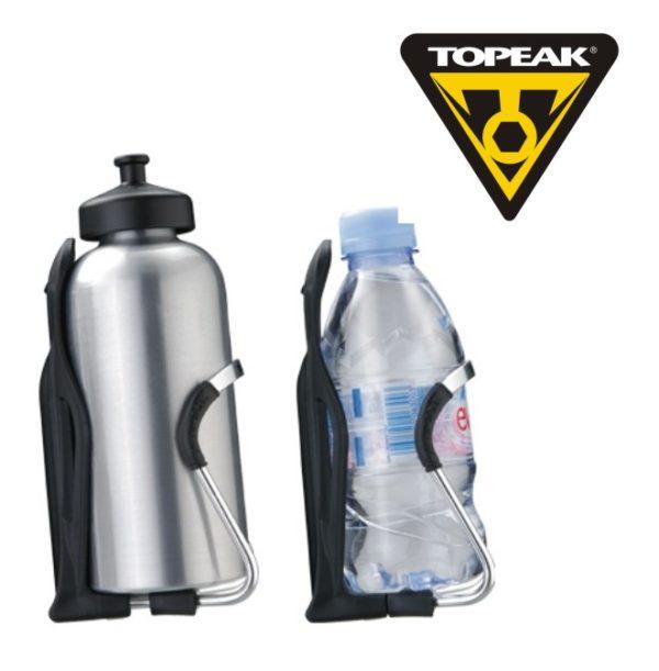 TOPEAK Modula Cage II флягодержатель с возможностью крепления фляг разного диаметра (алюминий-пластик)