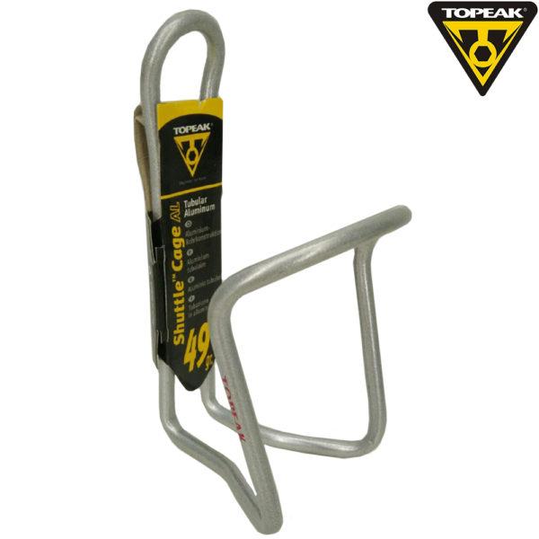 TOPEAK Shuttle Cage алюминиевый флягодержатель цв.silver