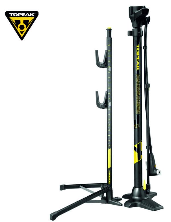 TOPEAK Transformer XX Floor Pump насос+подставка для велосипеда