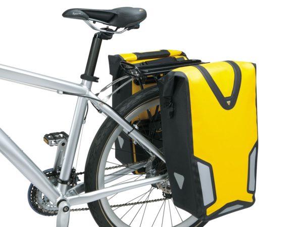 боковая велосумка на багажник