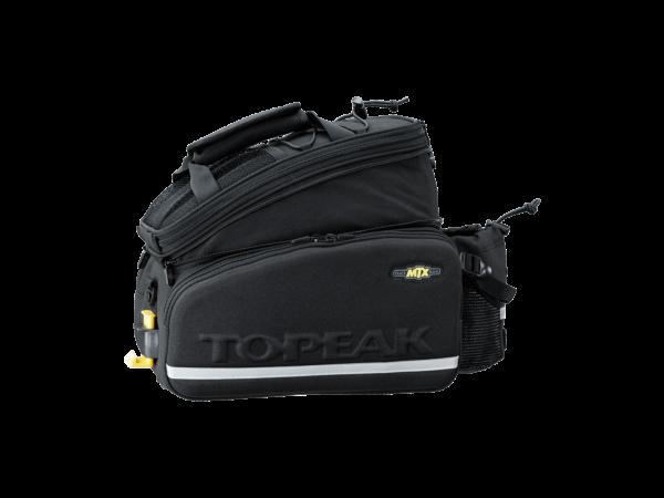 TOPEAK MTX Trunk Bag DX w/Rigid Molded Panels сумка на багажник с жёсткими направляющими и карманом для бутылки