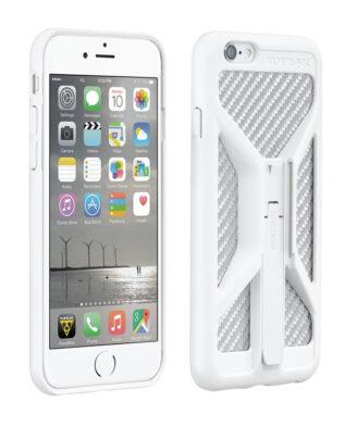 TOPEAK Бокс для телефона RideCase ONLY для iPhone 6/6S с возможностью крепления на руль. цв.белый
